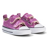 Converse Pink Glitter All Star 2V OX Infants Trainers