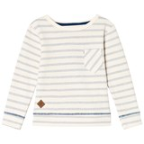 eBBe Kids Blue fog stripe Graham sweater