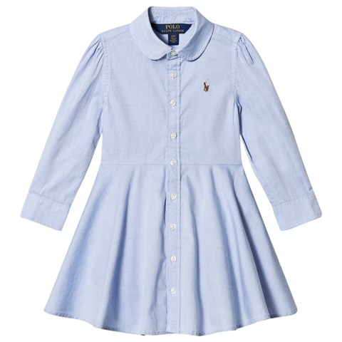 Ralph Lauren Blue Oxford Shirt Dress