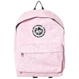 Hype Pink & White Speckle Branded Backpack