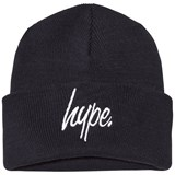 Hype French Navy Branded Bobble Beanie