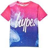 Hype Blue and Pink Space Jelly Print Branded T-Shirt