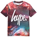Hype Red Space Gas Print Branded T-Shirt