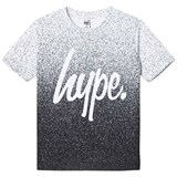 Hype Mono Speckle Fade Branded T-Shirt