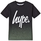 Hype Khaki Speckle Fade Branded T-Shirt