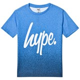 Hype Blue Speckle Fade Branded T-Shirt
