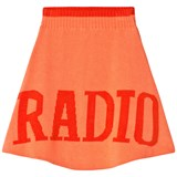 Wolf & Rita Orange and Red Fernanda Radio Skirt
