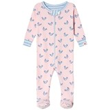 Hatley Pink Fluttering Birds Mini Footed Coverall