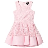Bardot Junior Pink Lace Debut Dress