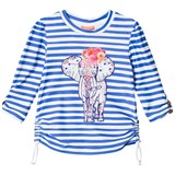 Sunuva Blue and White Stripe Carnival Rash Vest