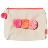 Sunuva Pink Pompom Wash Bag