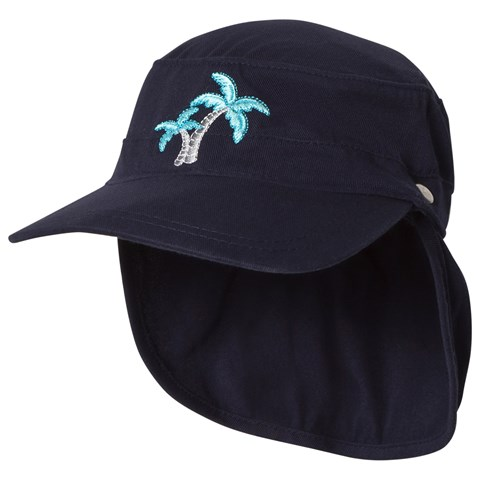 Sunuva Navy Boys Palm Tree Cap  ff822fc41f2