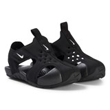 Nike Black and White Nike Sunray Protect Toddler Sandal