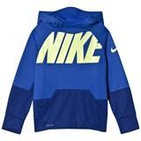 Nike Blue and Navy Nike Therma GFX Hoodie