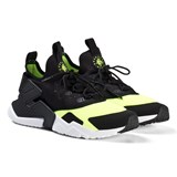 Nike Black and White Volt Nike Huarache Run Drift Shoes