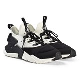 Nike Black and White Nike Huarache Run Drift Shoes