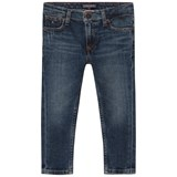 Tommy Hilfiger Blue Dark Wash Randy Slim Fit Jeans