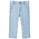 Stella McCartney Kids Skull Embroidered Leonard Jeans