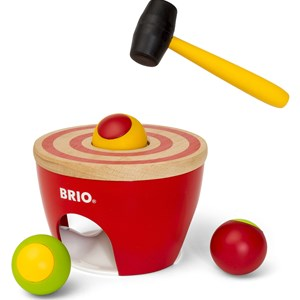 BRIO Red Ball Pounder 24 months - 3 years