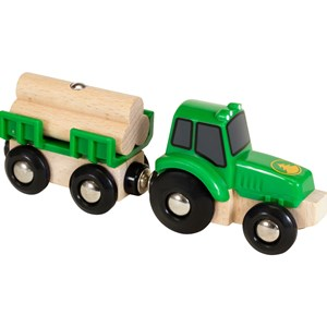 BRIO Wooden Tractor With Load 3 - 7 years