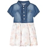 Guess Blue Denim and Butterfly Dress