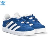 adidas Originals Blue Gazelle Infant Velcro Trainers