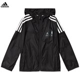 adidas Performance Black Boys Lightweight Jacket