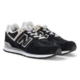New Balance Black Junior Lifestyle Trainers