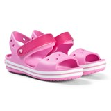 Crocs Kids Party Pink Crocband Sandals