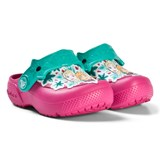 Crocs Kids Candy Pink Frozen Fun Lab Clogs