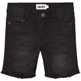Molo Washed Black Alons Woven Shorts