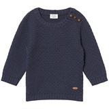Hust&Claire Navy Blue Pullover