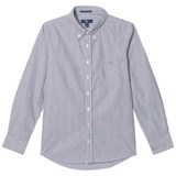 Gant Navy Banker Stripe Shirt