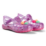 Crocs Kids Neon Purple Isabella Novelty Sandals