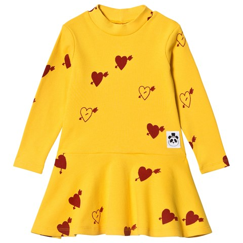 Mini rodini heart dress