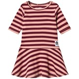 Mini Rodini Pink Red Stripe Rib Dance Dress