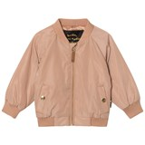 Mini Rodini Beige Draco Baseball Jacket