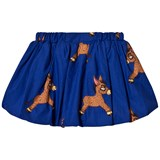 Mini Rodini Blue Donkey Woven Balloon Skirt