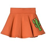 Mini Rodini Orange Donkey Cactus Sweat Skirt