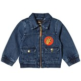 Mini Rodini Vintage Wash Denim Tiger Jacket