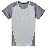 Nike Grey and Neon Dri-Fit T-Shirt