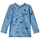Soft Gallery Copen Blue Quirky Big Baby Astin Sun Shirt