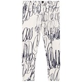 Papu White Route Fold Leggings
