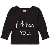 Papu Black I Hear You Long Sleeve Shirt