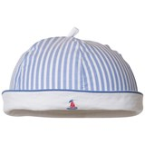 Mayoral Blue and White Stripe Sailor Hat