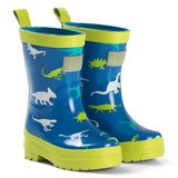 Hatley Blue And Green Dinosaur Menagerie Rain Boots