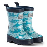 Hatley Blue Shark Alley Rain Boots