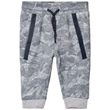 Timberland Kids Grey Leaf Camo Sweat Pants