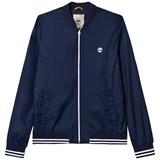 Timberland Kids Navy Bomber Jacket with Logo
