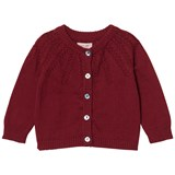 Noa Noa Miniature Tibetan Red Long Sleeve Cardigan